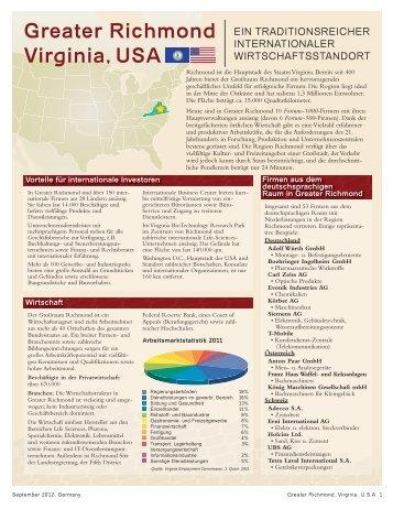 Greater Richmond Virginia, USA - Greater Richmond Partnership