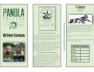2013 Panola College Pony Express 5K Run - The Pony Express