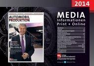 Mediadaten 2014 - Verlag Moderne Industrie
