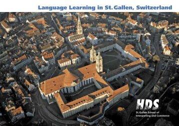 Language Learning in St. Gallen, Switzerland - Study in Switzerland