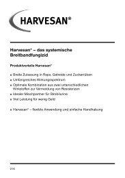 Harvesan® Produktinformation 2013 (PDF) - DuPont