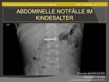 Download - Primarius Dr. Thomas MAYRHOFER Facharzt für ...