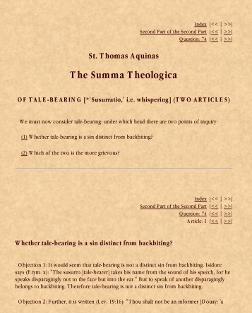 Kolbe's Greatest Books: Thomas Aquinas Summa Theologica ...