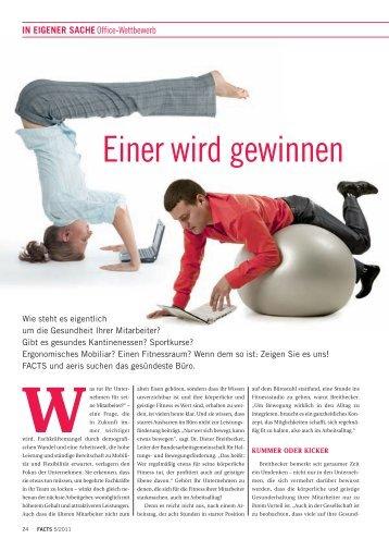 Einer wird gewinnen - FACTS Verlag GmbH