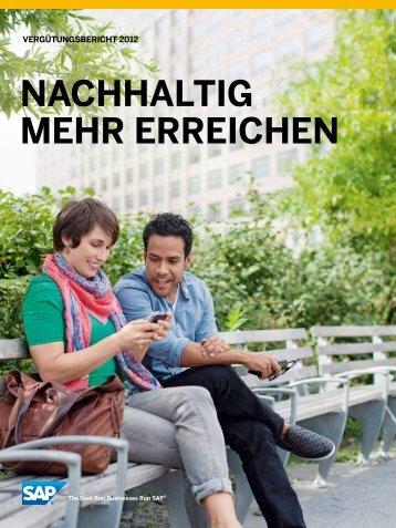 Vergütungsbericht 2012 (PDF) - SAP.com