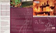 Specials: Anmeldung zu Wine & Dine - KulTOUR Ferienreisen