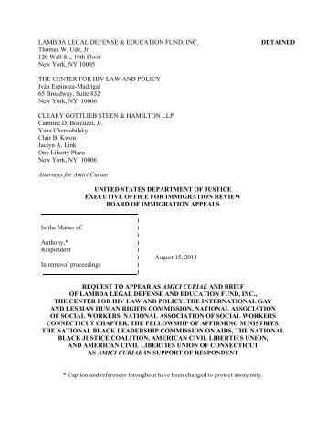 in re Anthony - Bd of Immigration Appeals.pdf - National Association ...