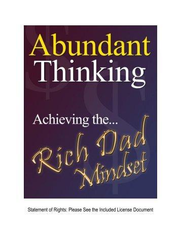 Abundant Thinking - Kwasu