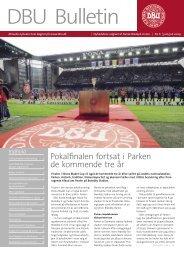 Pokalfinalen fortsat i Parken de kommende tre år - DBU