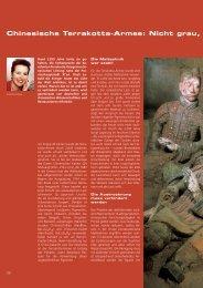Chinesische Terrakotta-Armee: Nicht grau, - Carl Zeiss