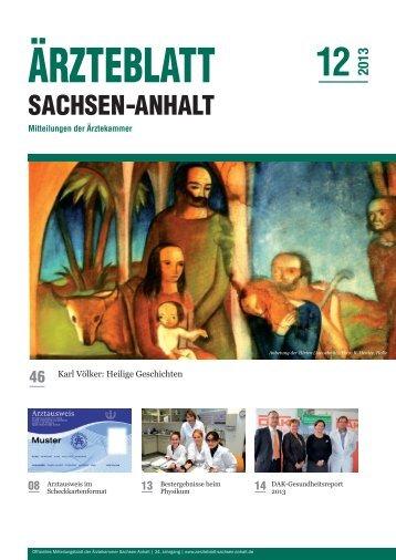 PDF-Download (8,6 MB) - Ärzteblatt Sachsen-Anhalt