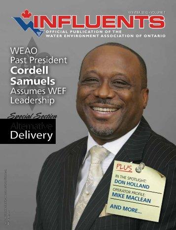 Cordell Samuels Cordell Samuels - Water Environment Association ...