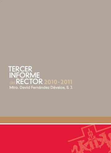 Tercer Informe - Universidad Iberoamericana Puebla
