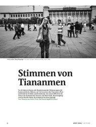 Stimmen von Tiananmen - Journalist Thomas Aue Sobol