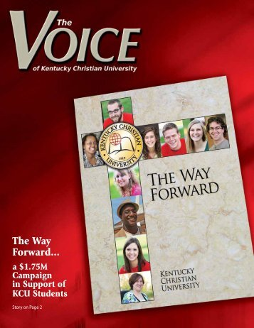 The Way Forward... - Kentucky Christian University