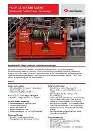 poly cafs twin agent - Rosenbauer International AG