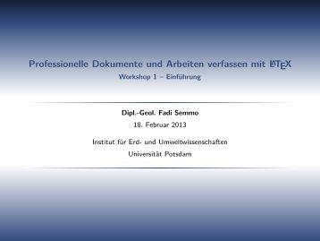 Einführung - fadi-semmo.de