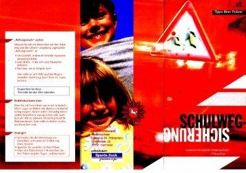 Schulweg-Sicherung