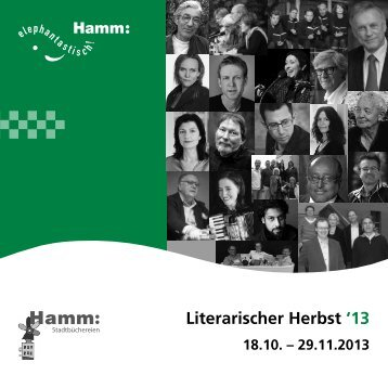 Literarischer Herbst 2013