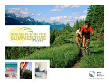 Green Fun in the Summertime Recipes - David Suzuki Foundation