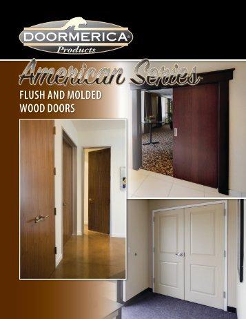 FLUSH AND MOLDED WOOD DOORS - Doormerica.com