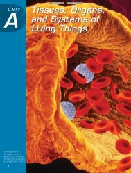 Tissues, Organs, and Systems of Living Things Tissues ... - Kilby