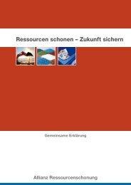 gemeinsame Erklärung - Ökologische Plattform der LINKEN