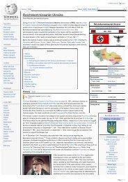 Reichskommissariat Ukraine - Grahams Nazi Germany Third Reich ...