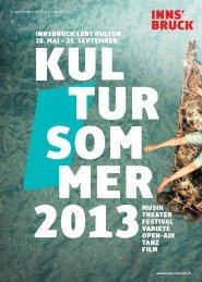 musik theater festival varieté open-air tanz film innsbruck lebt kultur ...
