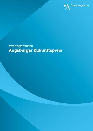 Zukunftspreis 2013 - Nachhaltigkeit - Stadt Augsburg