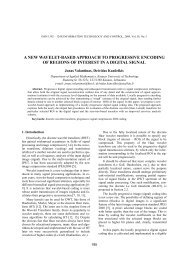 A NEW WAVELET-BASED APPROACH TO PROGRESSIVE ...
