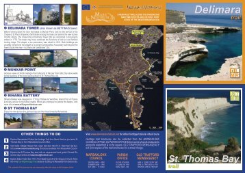 Trail brochure - Mare Nostrum