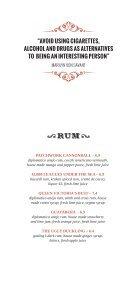 Drinks Menu (PDF) - The Wardrobe - Page 4