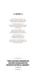 Drinks Menu (PDF) - The Wardrobe - Page 5