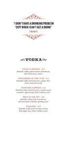 Drinks Menu (PDF) - The Wardrobe - Page 6