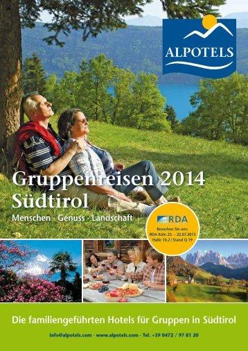 Katalog 2014 - Alpotels