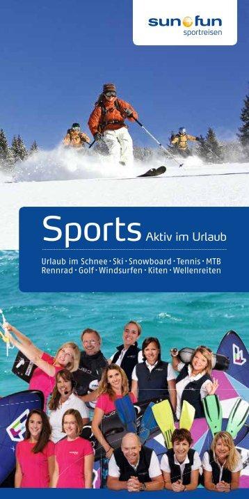 SportsAktiv im Urlaub - Sun and Fun