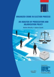 ORGANIZED CRIME IN ELECTION PROCESS ... - Fes-prishtina.org
