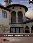Ashlar Wallmat Installation Guide - Real Stone Source - Page 2