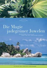 Die Magie jadegrüner Juwelen - GMK Reisen