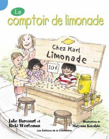 Le comptoir de limonade page 1 à 13 (2e année)