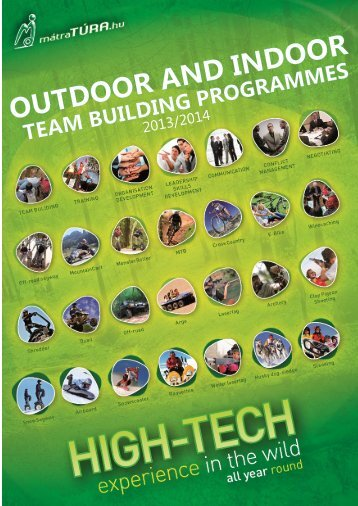 team building programmes outdoor and indoor