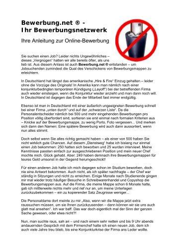 Bewerbung Um Einen Arbeitsplatz Bernd Mausolf Bemadata