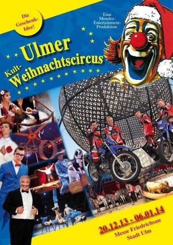 Clown - Ulmer Weihnachtscircus