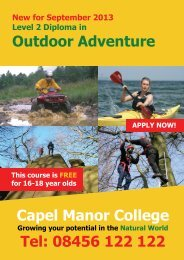 Outdoor Adventure 2 - Capel Manor College