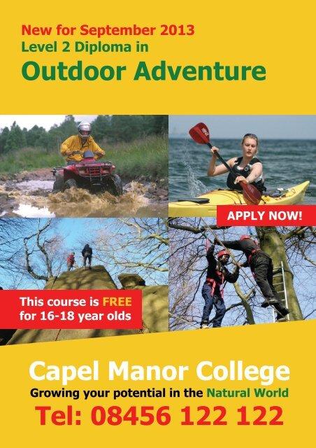 Outdoor Adventure 2 - Capel Manor College
