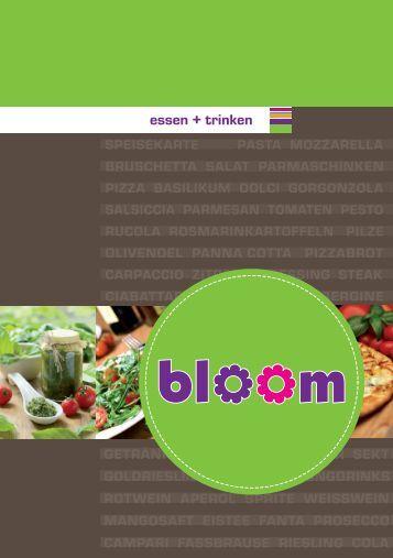 bloom essen + trinken
