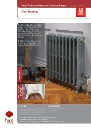 Hunt Cast Iron Flyer - Hunt Heating