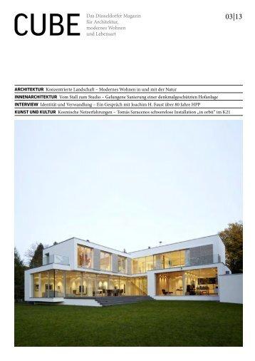 Architektur Magazin cube das köln bonner magazin für architektur modernes wohnen
