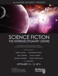 SCIENCE FICTION - Author Robert J. Sawyer